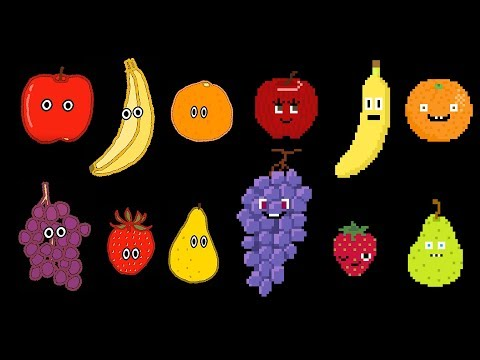 Fruit Collection -  Fruit Song, Find the Fruit - The Kids' Picture Show (Learning Video)