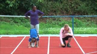 Leichtathletik 13.07.2012 Training mit Athleten aus Südafrika und Namibia HLV-Kreis WiRT