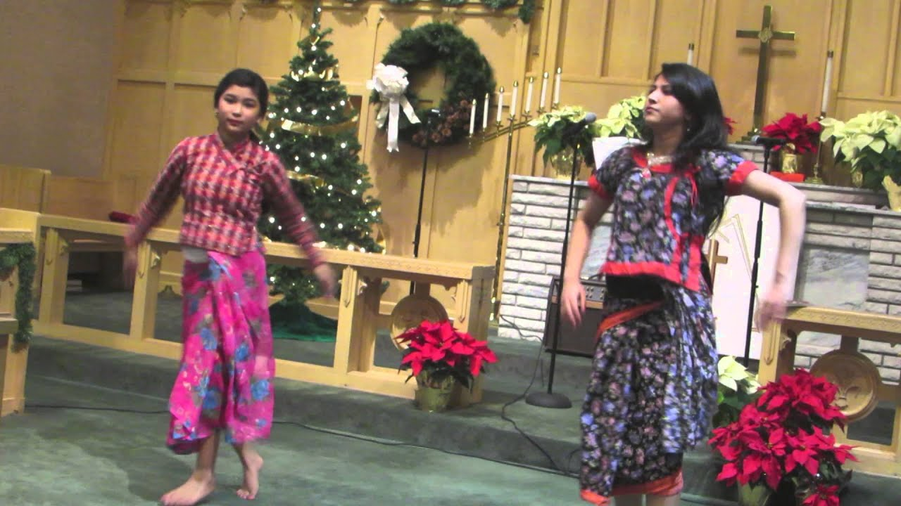 Hindi Christian Christmas Dance By Bncp Girls Youtube