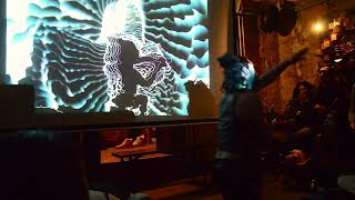 Tree of Life 03 - Piano / Dance / Visuals Improv Collab (Synaesthetic Web, Berlin, 28 Nov 2019)