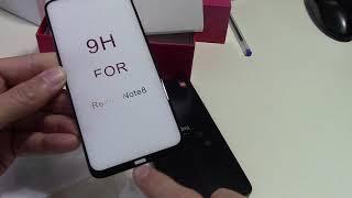 Xiaomi Redmi Note 8 и Redmi Note 8 Pro   защитные стекла и чехлы разные