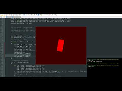 4D engine from scratch ! Day 3 : improving the 4D render pipeline