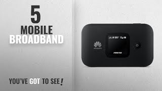 Top 10 Mobile Broadband [2018]: Huawei E5577 Black 4G Low-cost Travel Wi-Fi, Super-Fast Portable
