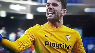 Trifulca final del Español vs Sevilla