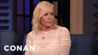 Chelsea Handler Resisted The Urge To Confront A Gassy Airplane Passenger - CONAN on TBS