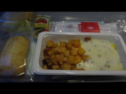 Air Canada Trip Report: Breakfast In Economy On Flight From Toronto To Hong Kong