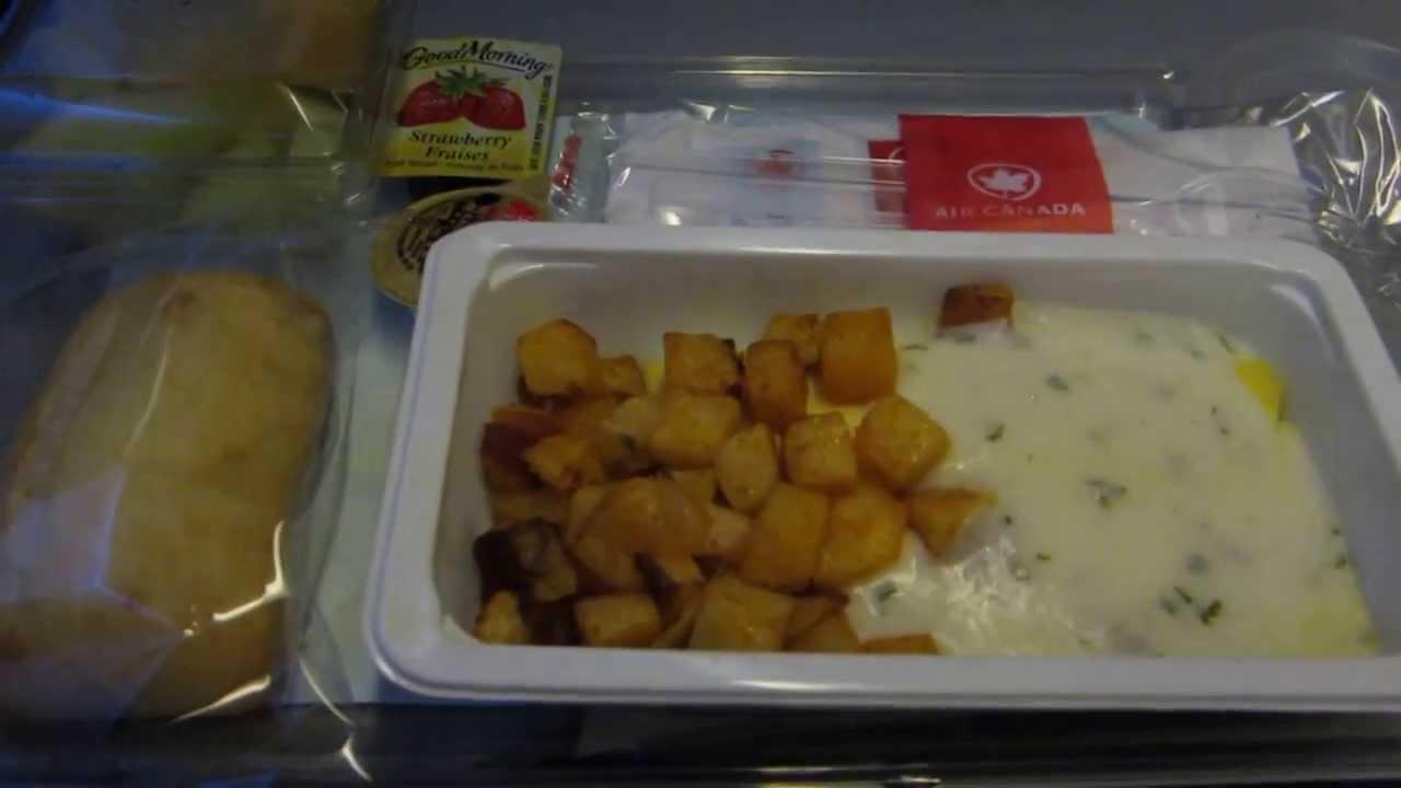 Air Canada Trip Report: Breakfast in Economy on Flight