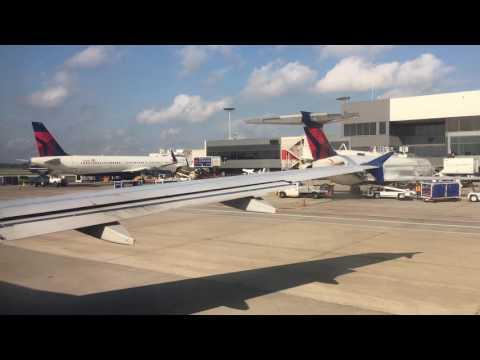Delta Airlines A320 Full Flight Atlanta to New York LaGuardia