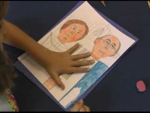 Drawing American Gothic