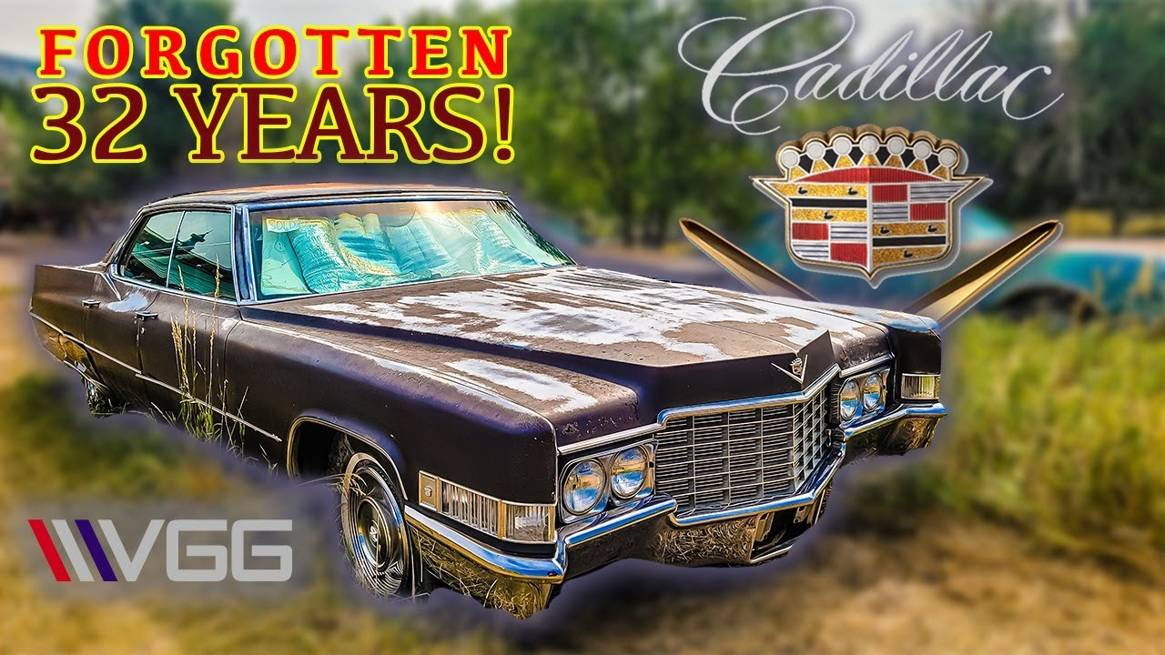 ABANDONED 1969 Cadillac - Will it RUN AND DRIVE 600 Miles After 32 YEARS?