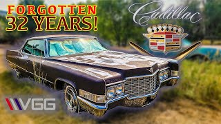 ABANDONED 1969 Cadillac  Will it RUN AND DRIVE 600 Miles After 32 YEARS?