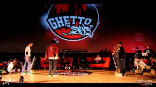 BATTLE TRIP TO RUSSIA 1/4 FINAL Ghetto Style (Theodora Ulrich) vs Samouraï et Bboy Grun  HKEYF