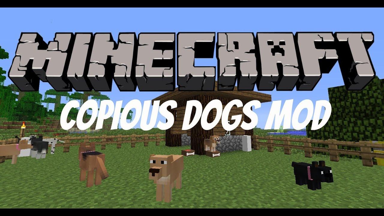1 Minecraft Dog Mod 4 7