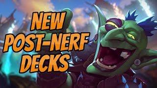 New Post-Nerf Decks   Even Hunter & Rogue   Hearthstone