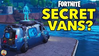 NEW RESPAWN VANS IN FORTNITE MAP - Fortnite Replay Secrets
