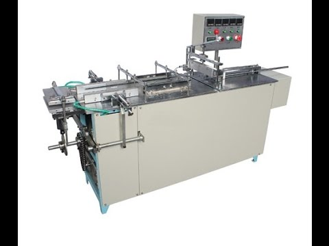 Automatic Cigarette Case Packing System With BOPP Film Cellophane Over Wrapping Machines