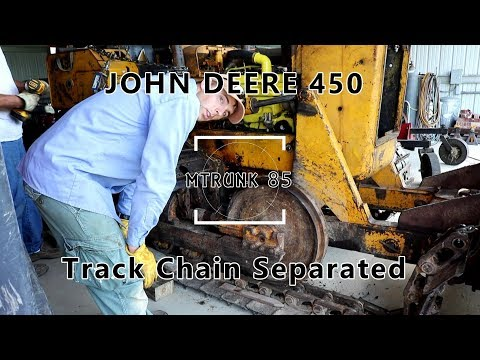John Deere 450 Crawler Update Part 2 Front Idler Replacement