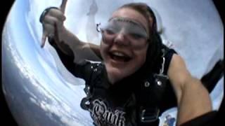 KAYLA Sky Diving-San Diego.....6/8/09