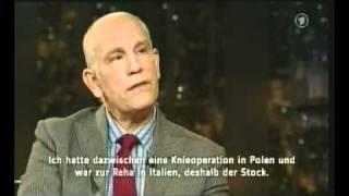John Malkovich zu Gast bei Harald Schmidt