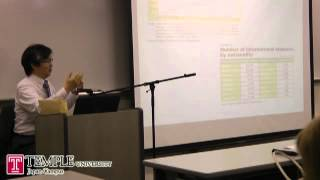 Public Leture Video (6.6. 2012) : Foreign Direct Investment in Japan