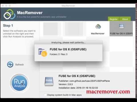 How To Remove FUSE for OS X (OSXFUSE) on MacOS?