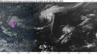 Beta Bringing Rain and Storm Surge to Texas and Lousiana; Teddy Moving Toward Nova Scotia