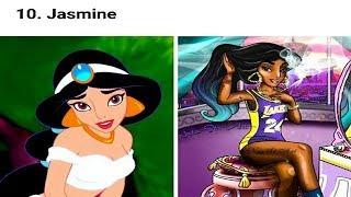 Top 10 Disney Princesses Imagine As Modern Bad Girl