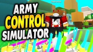[CODE] BEST NEW SIMULATOR ON ROBLOX? | ARMY CONTROL SIMULATOR | iBeMaine