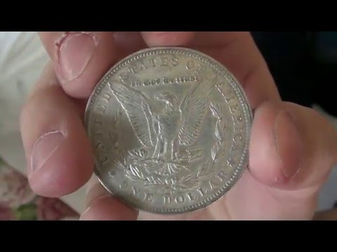 Silver Stacking: Extra Fine Morgan Dollars - APMEX Unboxing - Numismatics with Kenny