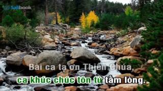 [Karaoke TVCHH] 092 - CHÚC TÔN THIÊN CHÚA CAO VỜI - Salibook
