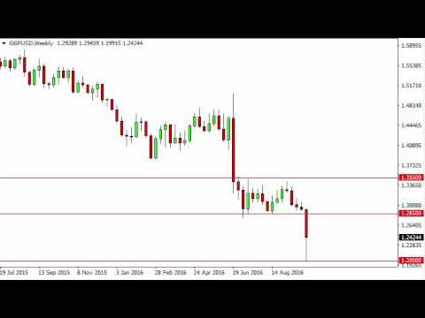 GBP/USD Forecast for the week of October 10 2016, Technical Analysis