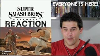 Super Smash Bros Ultimate - Everyone is Here Trailer E3 2018 - REACTION
