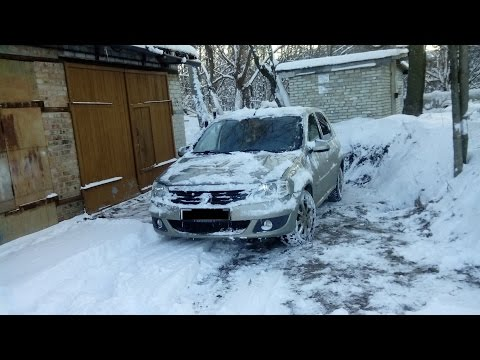 видео: Прогрев двигателя зимой на Рено Логан (1.6 8v)