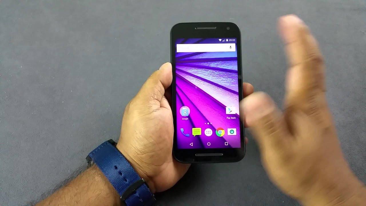 Motorola Moto G 3rd Generation Notification LED, Proximity sensor, Auto  Brightness test