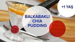 Balkabaklı Chia Puding (1+ Yaş) | İki Anne Bir Mutfak