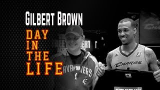 A Day in the Life of NBA D-League's Gilbert Brown