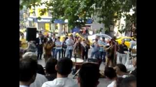 South American Indians - Street Performance in Kadikoy, Istanbul
