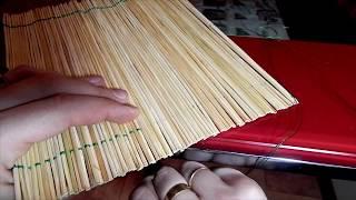 как сделать циновку - коврик для формования роллов