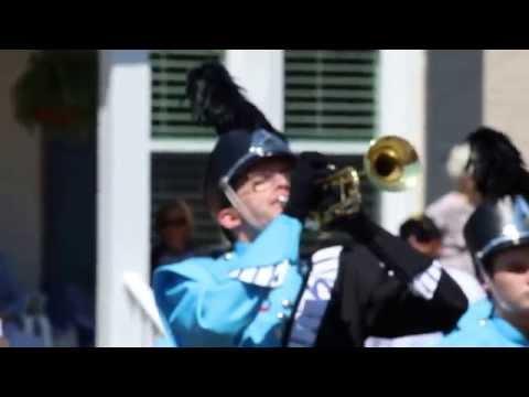 South Gibson County High School Band Teapot Parade 2015