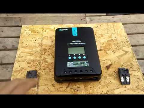 Renogy 12v 400w 40a Solar Panel System Kit Install Part