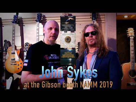 John Sykes First Interview In 10 Years With Jason McNamara At NAMM 2019