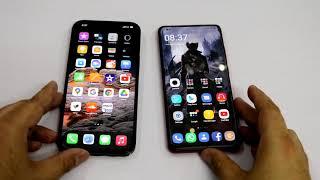 iPhone 12 Pro Max Vs Xiaomi K20 Pro Premium Edition Speed Test Urdu/Hindi
