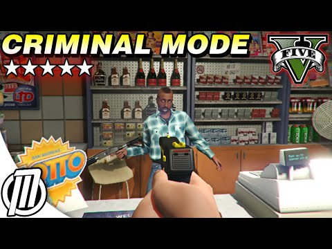 GTA 5 Mods: Criminal Mode, Starting from the Bottom! - PC Gameplay Live Stream (1080p)