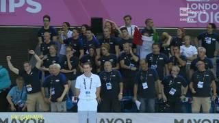 ITALIA BRONZO staffetta maschile 200 s.l. Europei di nuoto Londra 2016