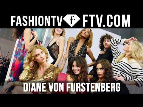 Diane von Furstenberg Runway Show at NYFW Fall/Winter 16-17 ft. Gigi Hadid & Karlie Kloss | FTV.com