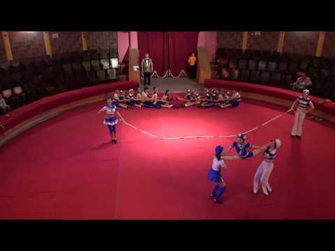 видео: Скакалки г. Конаково. Фестиваль детских цирковых самодеятельных коллективов в ГУЦЭИ