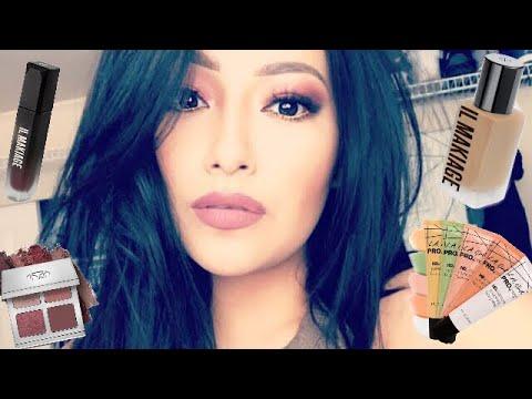 I'M BACK!  CHIT CHAT GRWM: Using New Makeup IL Makiage   - Alexisjayda