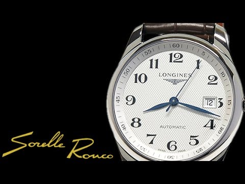 0e4b2236a1b LONGINES Master Collection Date 40 mm Automatic - YouTube