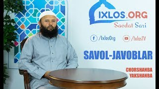 LIVE: Savol-javoblar (09.01.2019)