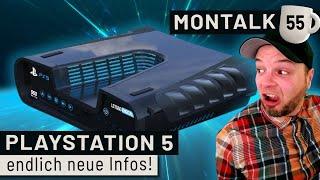 Playstation 5: Unsere Meinung zu Controller, Features & Design | Montalk #55
